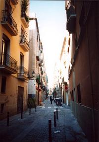 Barri Gotic Alleyway (Spain) 1