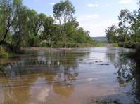 creek in flood