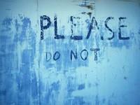 Please Do Not