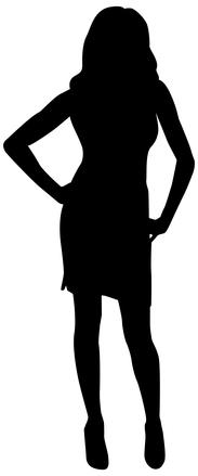 Silhouette Pose 5