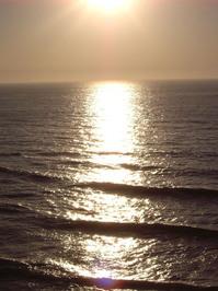 ocean dusk