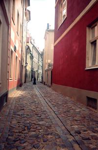 street of Riga