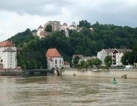 high waters at Passau