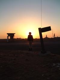 Soldier sunrise