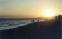 Atardecer Mar del Plata
