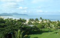 Sabah coastline, Malaysai