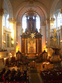 St. Michaelis Hamburg Church Service