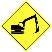 Traffic warning sign 6