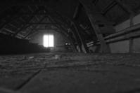 Dark attic