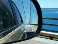 Mackinac Bridge (from the car) 1