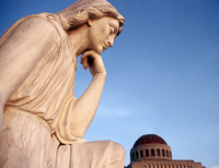 Statue Pondering