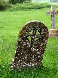 Very old gravestones
