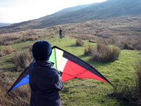 Launching a Kite