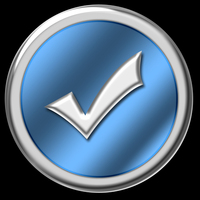 Blue & Chrome Website Buttons 3