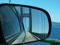 Mackinac Bridge (from the car) 2