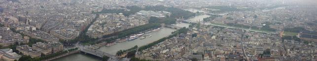 Paris bird's view