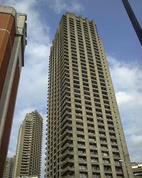 London Barbican block of flats