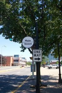Main Street Evansville, Indiana