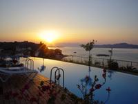 Sunset at Panorama Hotel