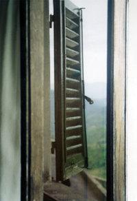 Window, Tuscany