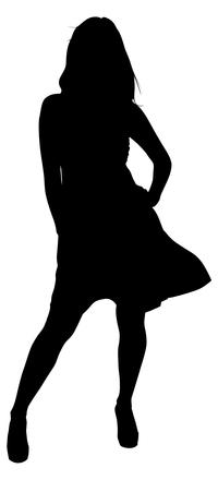 Silhouette Pose 15
