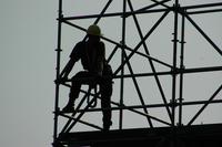 scaffolding silhouette