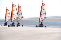 landyachts on the beach