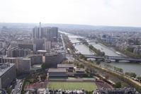 Paris from the Eiffel Tower 4