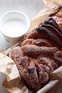 Sweet cinnamon bread 2