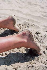 Beach laying #2