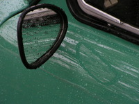 DAF rearview mirror