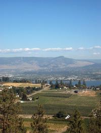 View Across the Lake to Kelown