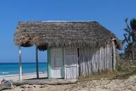 Cuban beach hut