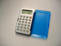 Blue calculator 2