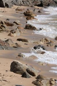 Rocks & shore