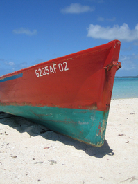 Mauritian boat