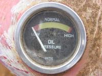 Tractor Oil Pressure Guage