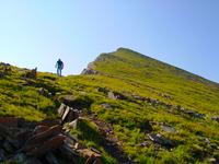 Climbing Comanche Peak