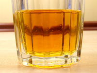 Liquid in glass