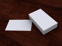 Free Business Card Mockup 1
