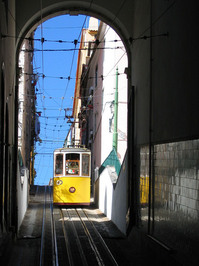 Lisbon, funicular
