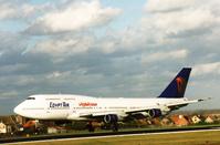 B747 Egypt Air