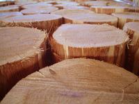 Oak paving blocks