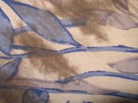Blue leaf tapestry