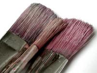 three brushes