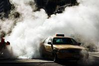 Taxi through steam