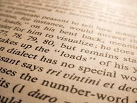 Linguistics Book in Sepia