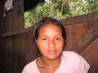 Quichua girl
