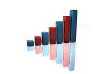 3D Financial graph 4