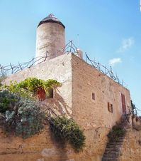 Old windmill in Spain 2